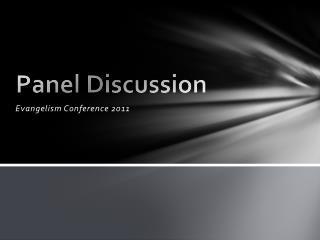 Evangelism Conference 2011