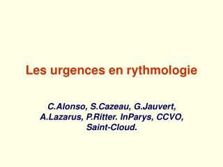 Les urgences en rythmologie