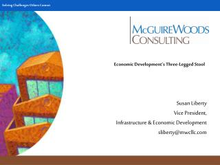 Economic Development's Three-Legged Stool