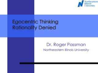 Egocentric Thinking