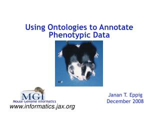 Using Ontologies to Annotate Phenotypic Data