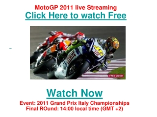 watch motogp czech republic grand prix 2011 live streaming o
