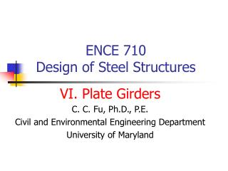 ENCE 710 
