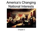 America's Changing National Interests