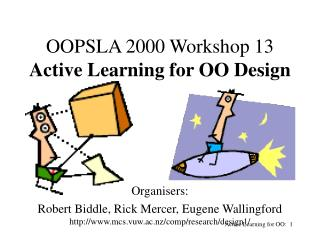 Active Learning for OO:  1
