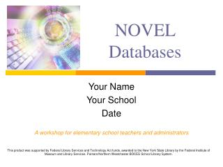 NOVEL Databases
