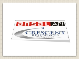 Ansal Crescent Residences Greater Noida