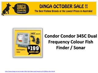 Condor Fish Finder \ Sonar at Dinga October Sale !