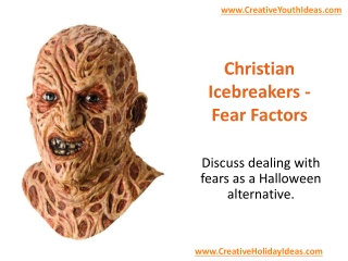 Christian Icebreakers - Fear Factors