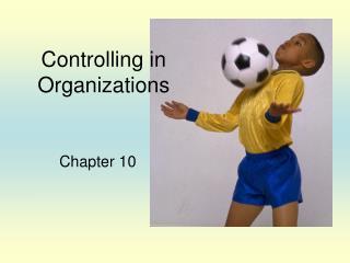 Controlling in Organizations