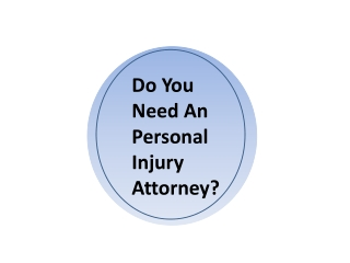 Need of Personal Injury lawyer in Toronto