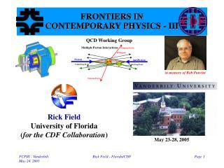 Rick Field - Florida/CDF