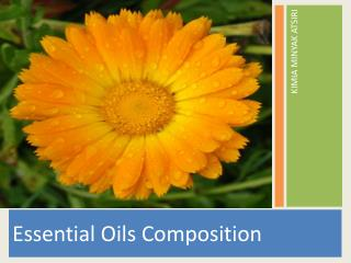 Essential Oils Composition