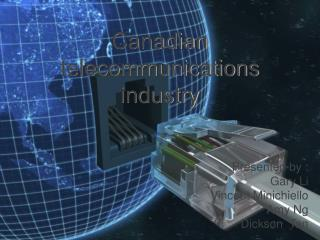 Canadian telecommunications industry