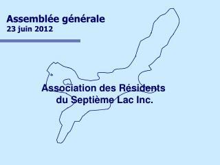 Assemblée générale23 juin 2012