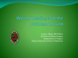 Wound Healing and the 