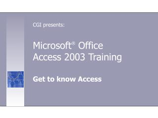 Microsoft® Office 