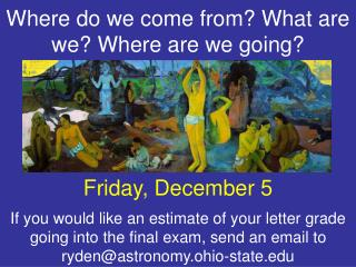 Friday, December 5