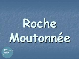 Roche Moutonnée