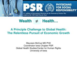 Actual Health Challenges Globally