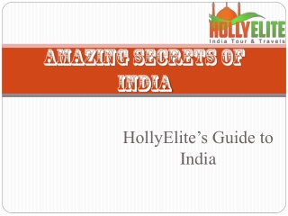 Amazing Secrets of India