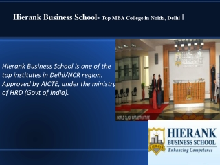 Top MBA Colleges in Delhi NCR - Check Out the Ranking of Bus