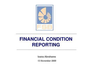 FINANCIAL CONDITION REPORTING