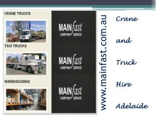 Truck rental south Australia