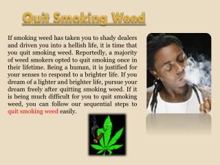 Anti Smoking Meds