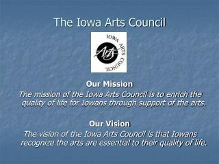 The Iowa Arts Council