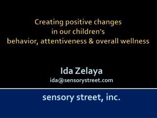 Ida Zelayaida@sensorystreet