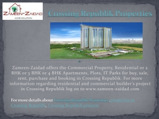 Crossing Republik Properties