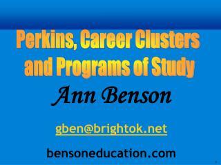 Ann Bensongben@brightokbensoneducation