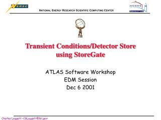 ATLAS Software WorkshopEDM SessionDec 6 2001