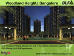 Woodland Heights Bangalore