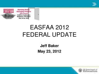 Jeff BakerMay 23, 2012