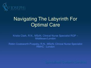 Navigating The Labyrinth For Optimal Care