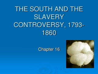 slavery  american history: diversity  debate
