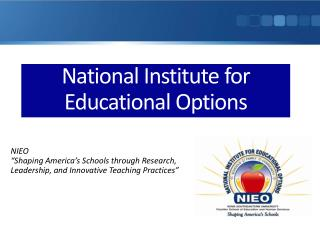National Institute for Educational Options