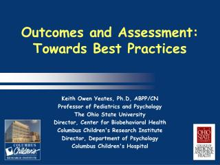 Outcomes and Assessment: 