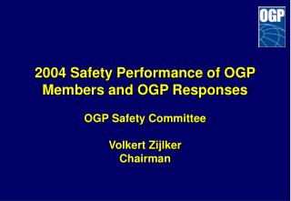 OGP Safety Committee