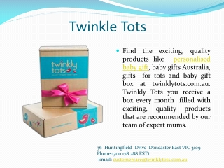 Twinkly Tots