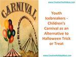 Youth Icebreakers - Children