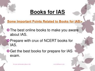 Here available news about Books for IAS