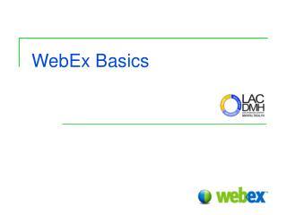 WebEx Basics