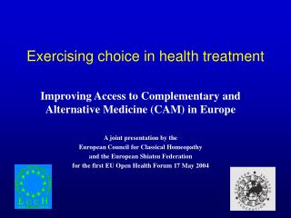 exercising choice in health treatment