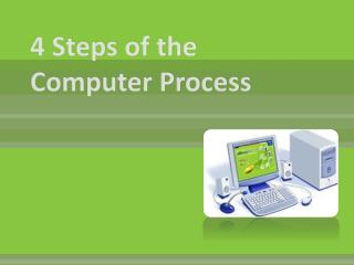 4 Steps of the Computer Process