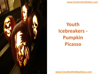 Youth Icebreakers - Pumpkin Picasso