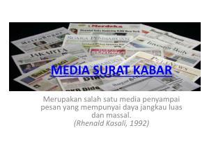 MEDIA SURAT KABAR