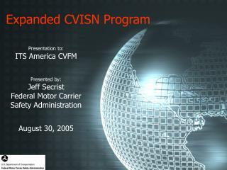 Expanded CVISN Program